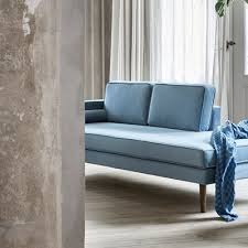 broste chaise longue wind blue